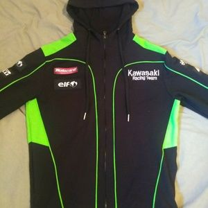 Kawasaki Race fleece jacket